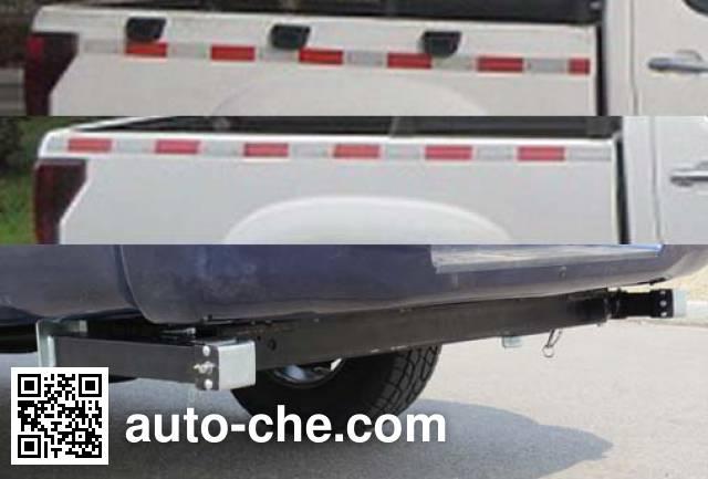 Huanghai DD5030JSQ truck mounted loader crane