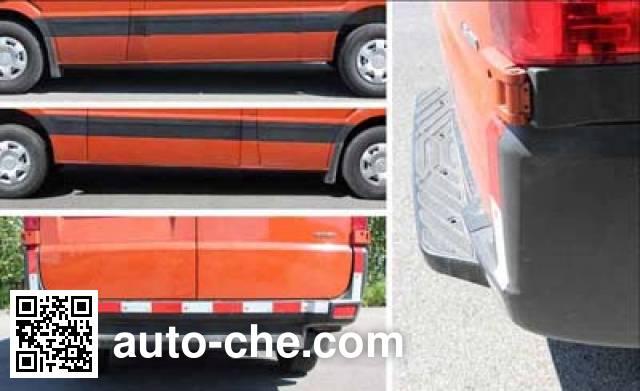 Huanghai DD5040XXYEV13L electric cargo van