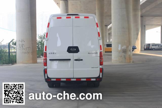 Huanghai DD5050XXYAHL box van truck