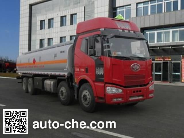 Huanghai DD5311GRY flammable liquid tank truck
