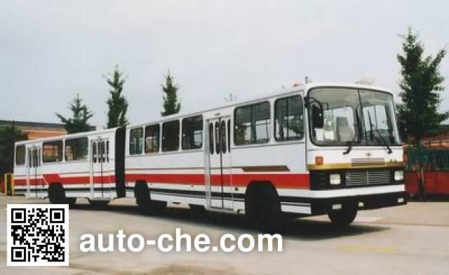 黄海牌DD6170S01铰接客车