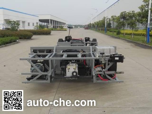 黄海牌DD6801DEV11纯电动客车底盘