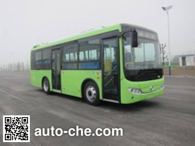 黄海牌DD6851PHEV2混合动力城市客车