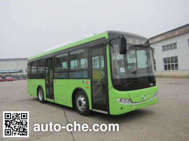 黄海牌DD6851PHEV2N混合动力城市客车