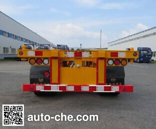 Huanghai DD9350TJZA container transport trailer