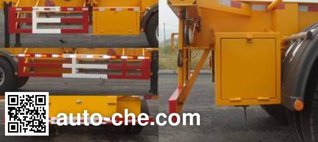 Huanghai DD9405TJZ container transport trailer