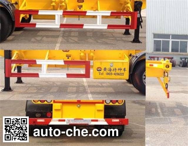 Huanghai DD9370TJZ container transport trailer