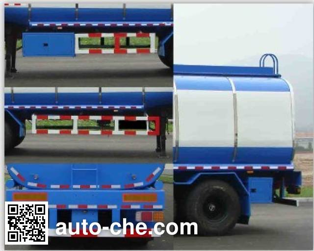 Huanghai DD9400GYS liquid food transport tank trailer