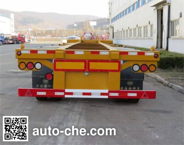 Huanghai DD9401TJZA container transport trailer