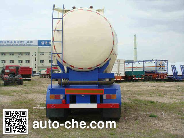 Huanghai DD9404GFL low-density bulk powder transport trailer