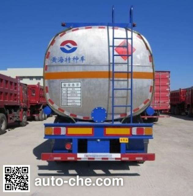 Huanghai DD9407GYY oil tank trailer