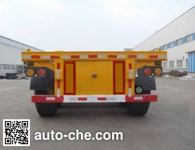 Huanghai DD9406TJZ container transport trailer