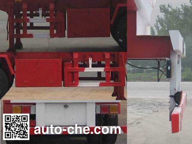 齐鲁中亚牌DEZ9400GFW腐蚀性物品罐式运输半挂车