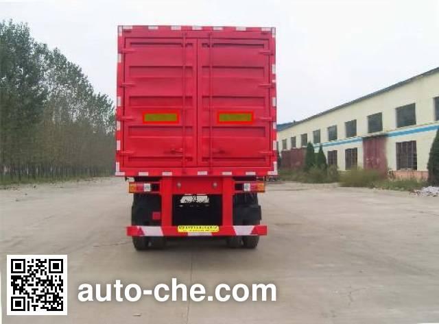 齐鲁中亚牌DEZ9400XXY厢式运输半挂车