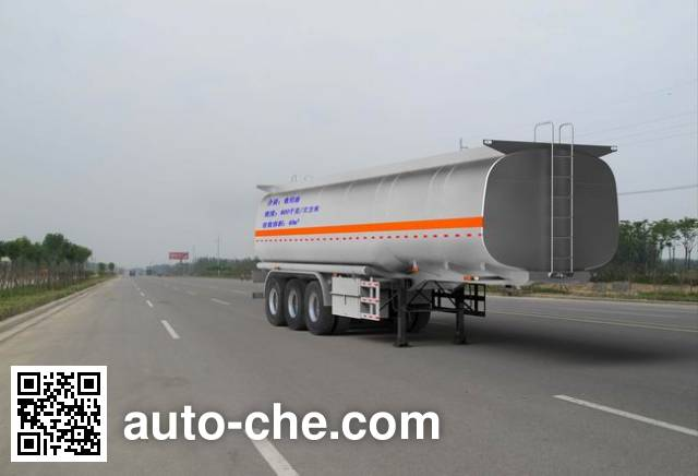 Qilu Zhongya DEZ9401GYS liquid food transport tank trailer