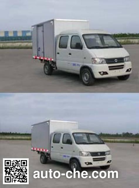 俊风牌DFA5021XXYH14QC厢式运输车