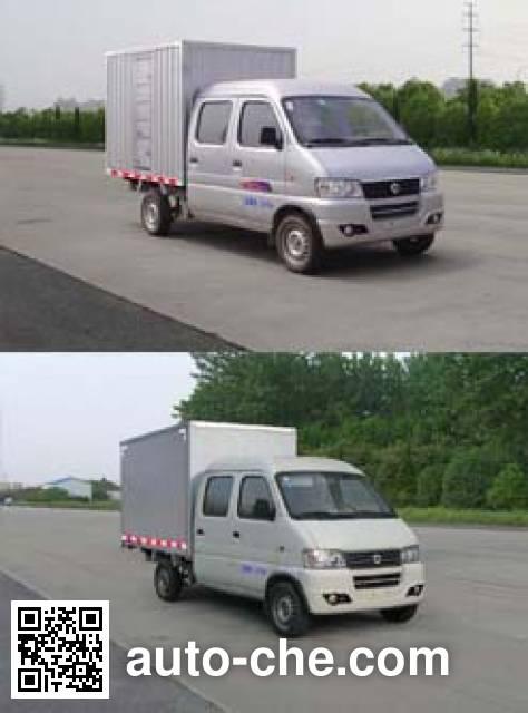 俊风牌DFA5021XXYH14QF厢式运输车
