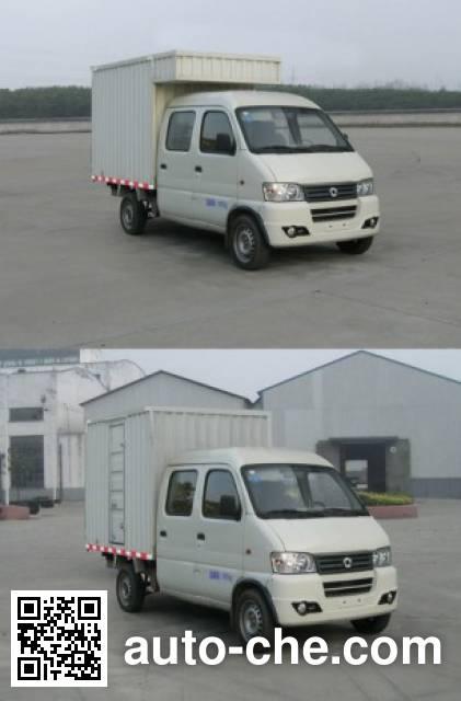 俊风牌DFA5028XXYH14QF厢式运输车