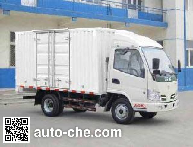 东风牌DFA5040XXY30D3AC-KM厢式运输车