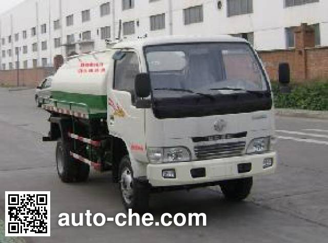 Dongfeng DFA5060GZX1 biogas digester sewage suction truck