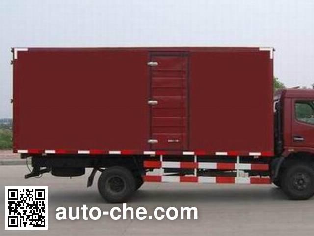 东风牌DFA5080XXY11D3AC厢式运输车