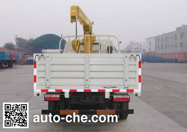 Huashen DFD5101JSQ truck mounted loader crane