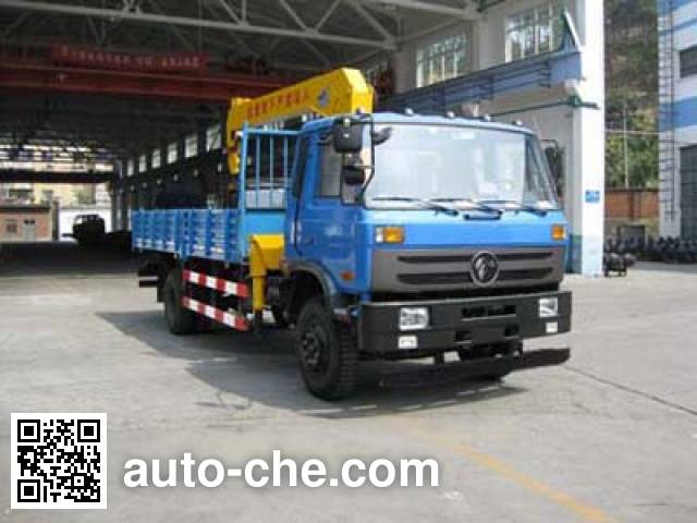 特商牌DFE5120JSQF随车起重运输车