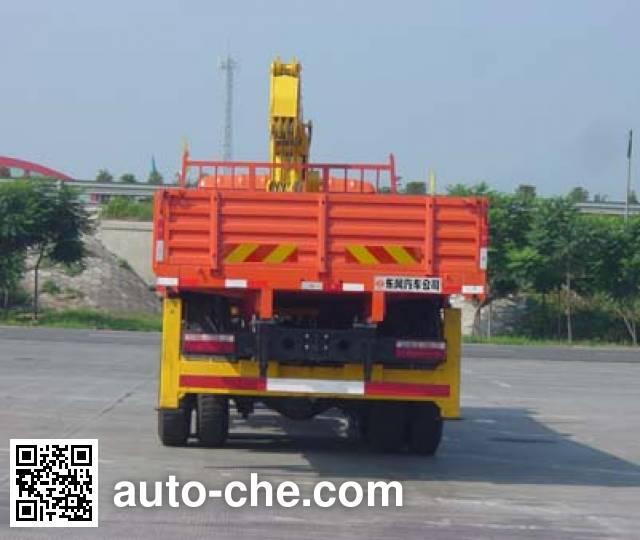 特商牌DFE5258JSQF随车起重运输车