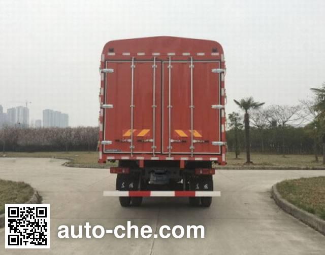 东风牌DFH5180CCQBX1DV畜禽运输车