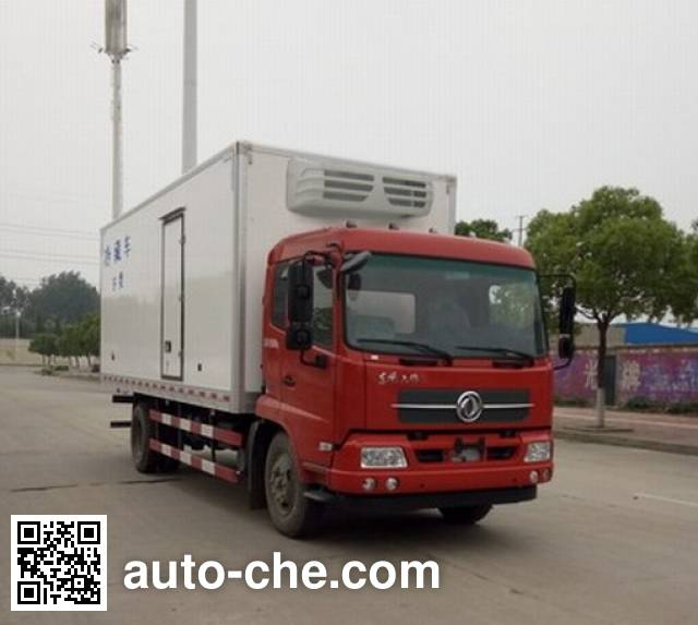 Dongfeng DFH5180XLCBX1JV refrigerated truck