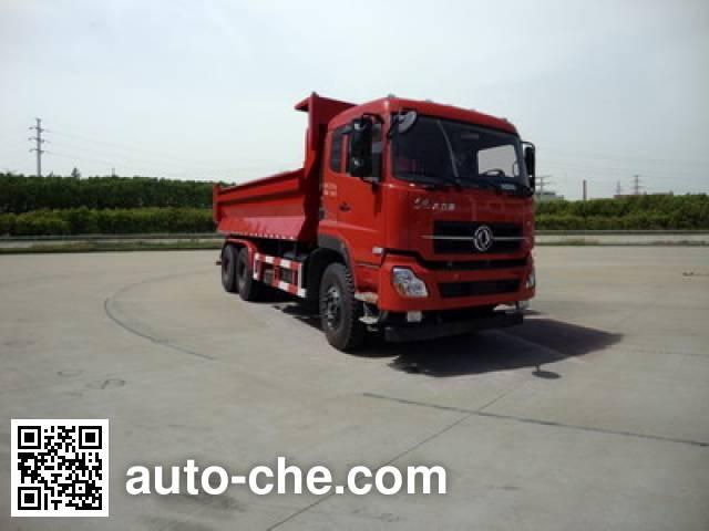 Dongfeng DFH5258ZLJAX6 dump garbage truck