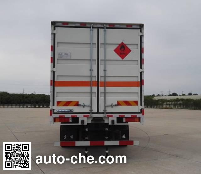 东风牌DFH5310TQPAX2气瓶运输车