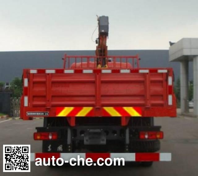 Dongfeng DFL5120JSQBX13A truck mounted loader crane