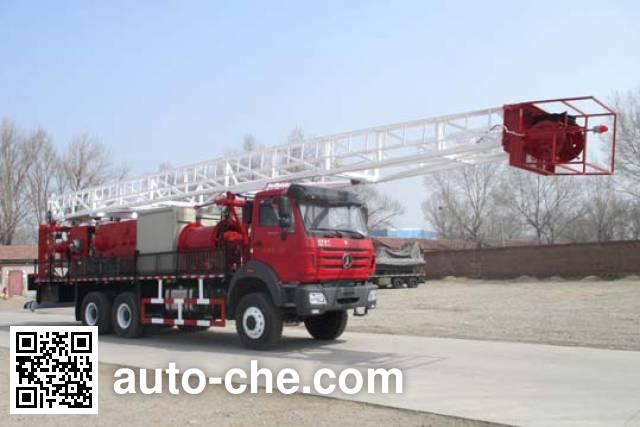 Jinshi DFX5321TXJ well-workover rig truck