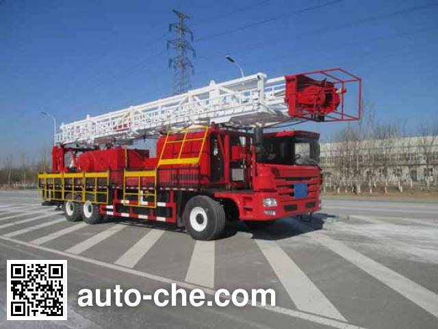 Jinshi DFX5362TXJ well-workover rig truck