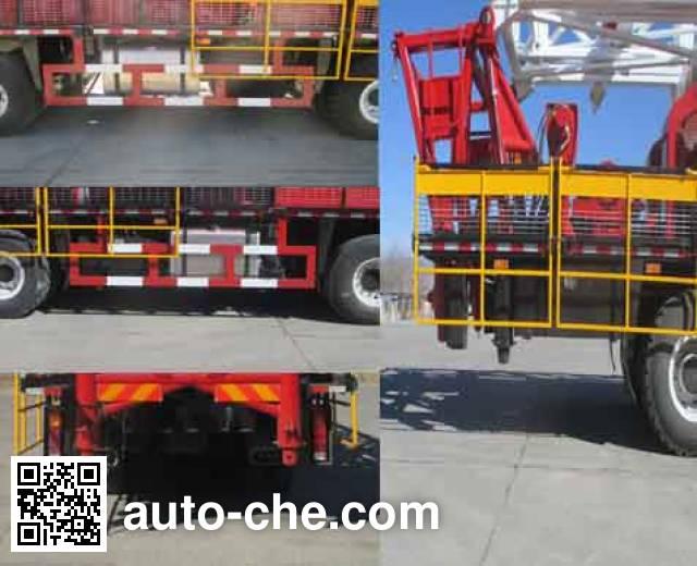 Jinshi DFX5554TXJ well-workover rig truck