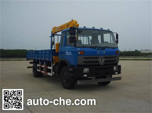 Dongfeng DFZ5168JSQSZ4D truck mounted loader crane