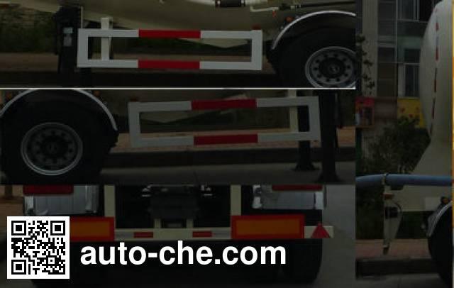 Dongfeng DFZ9402GFL medium density bulk powder transport trailer