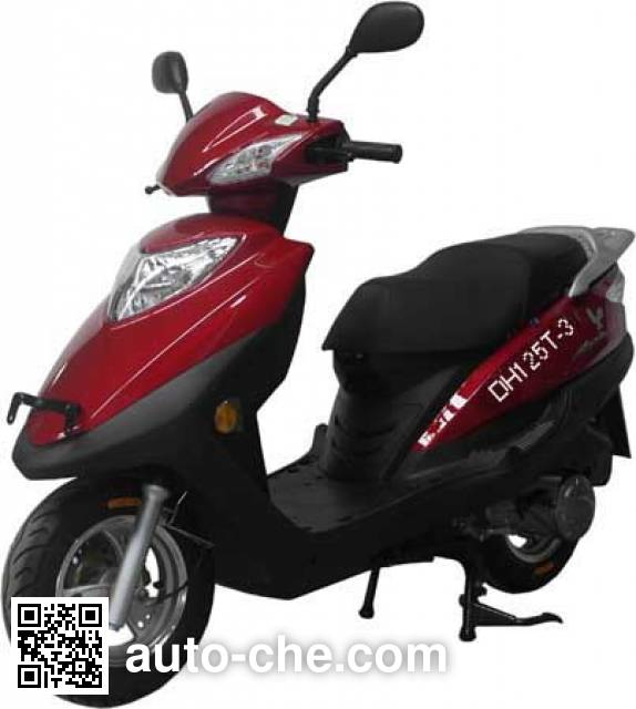 Emgrand DH125T-3 scooter