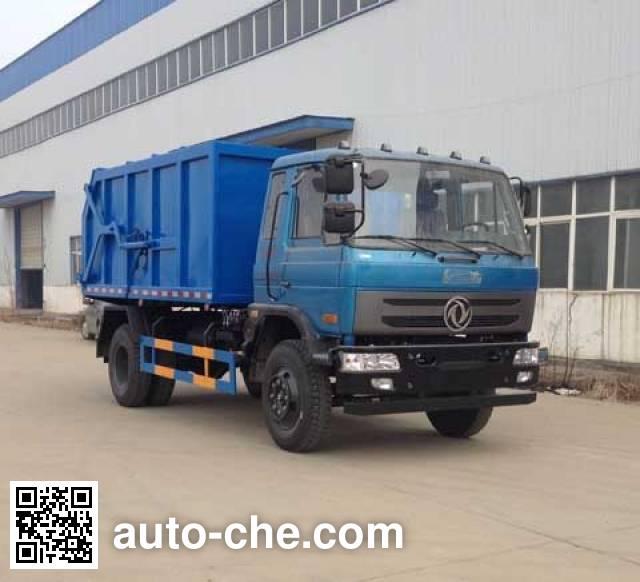 Dali DLQ5168ZDJL5 docking garbage compactor truck
