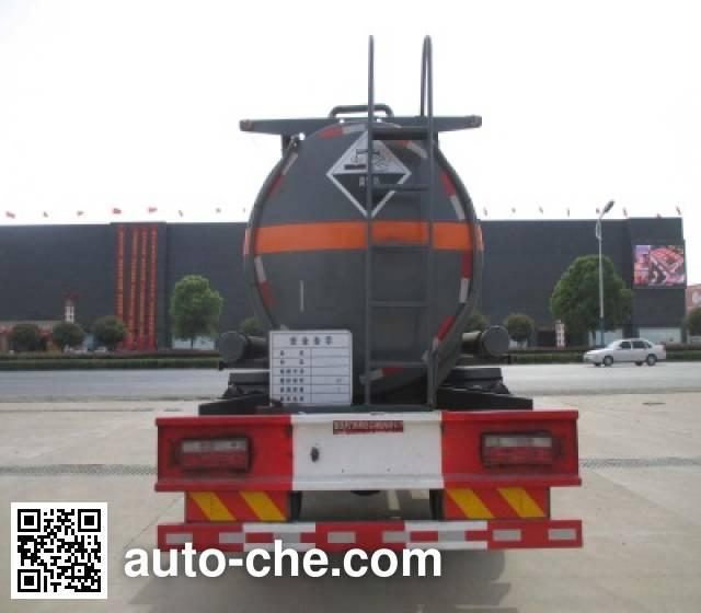 Dali DLQ5161GFWE4 corrosive substance transport tank truck