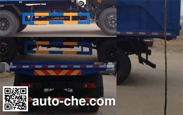 Dali DLQ5168ZDJ5D docking garbage compactor truck