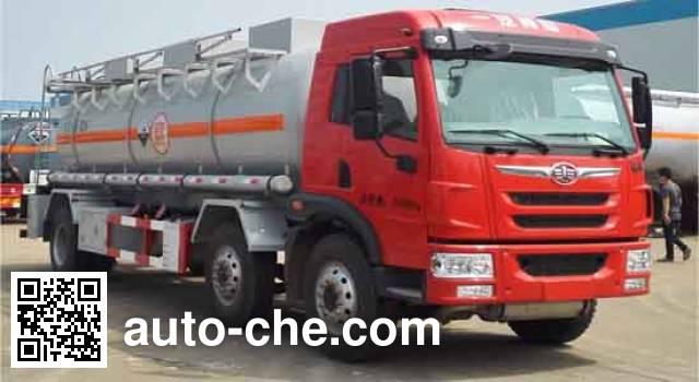Dali DLQ5250GFWC5 corrosive substance transport tank truck