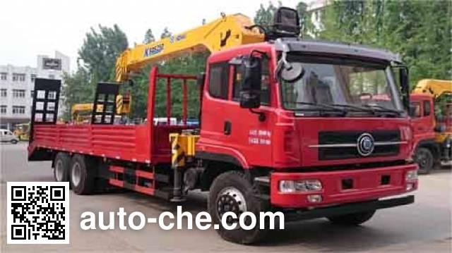 大力牌DLQ5250JSQX5随车起重运输车