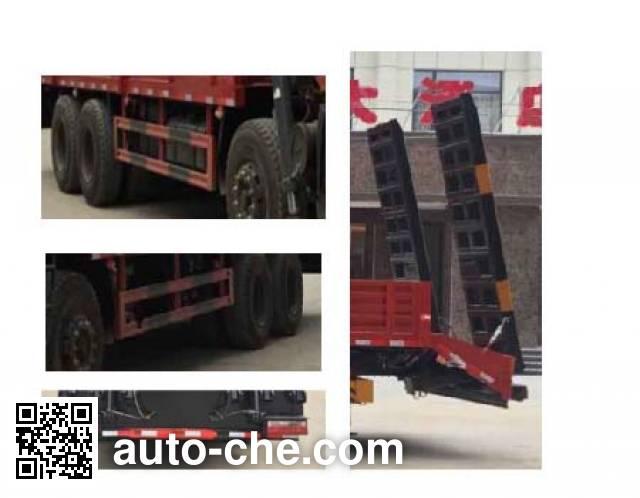 Dali DLQ5310JSQX4 truck mounted loader crane