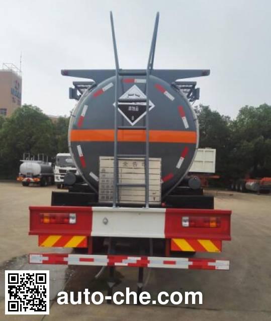 Dali DLQ5311GFWC5 corrosive substance transport tank truck