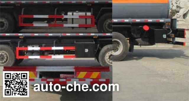 Dali DLQ5312GFWC4 corrosive substance transport tank truck