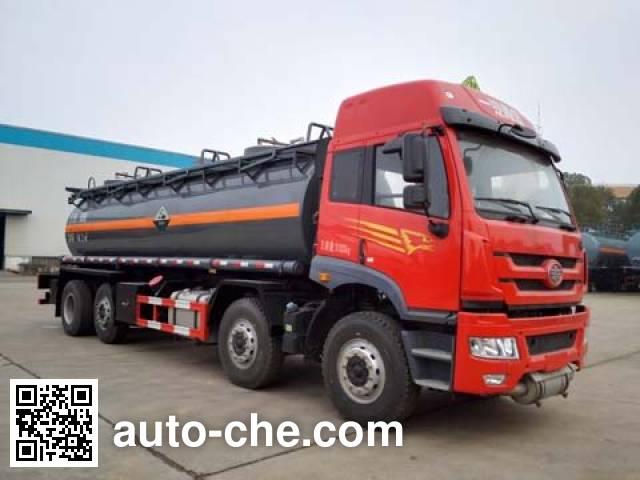 Dali DLQ5313GFWC4 corrosive substance transport tank truck