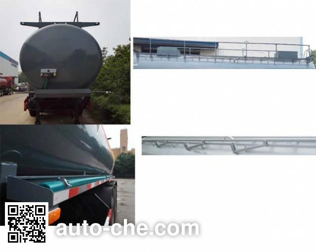 Dali DLQ9401GFWA corrosive materials transport tank trailer