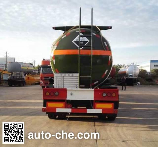Dali DLQ9409GFW corrosive materials transport tank trailer